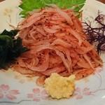 寿司居酒屋 七福 - 桜えび