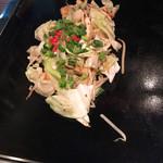 オモニ - シーフード野菜炒め小