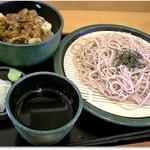 ゆで太郎 - 料理写真:H28.10 きのこかき揚げ丼