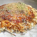 60272193 - お好み焼き「生地無し焼き そば肉玉」(700円)