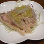麟家厨房 - Aセットが、生ビールに蒸し鶏、春巻、麻婆豆腐がついて780円です