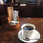 レストラン武蔵 - ドリンク写真:モーニングのコーヒー