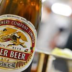 串揚げ いやさか - ラガービール(中瓶)380円