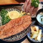 とりいづか - トビウオ定食1000円