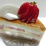 タンブラン - 苺のショートケーキ