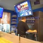 LBK CRAFT - クラフトビール10種類が出るサーバーコック。店主のボブさん。