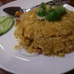 タイレストランBOSS - ・Khao Pad Sabpa Rod 900円