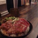 Red Rock - ステーキ丼  大 1250円