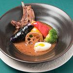 スープカリー キャラウェイ - スープカリーにはヘルシーでダイエット効果のあるスパイスがふんだんに使われています(21種)