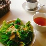 60280036 - サラダ スープ コーヒー
