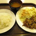 三笠 - 焼肉(豚肉)