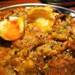 カレー屋バンバン - カレープレート(混ぜて食べる)
