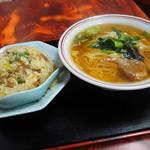 中華料理タカノ - ラーメンとチャーハン