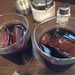 珈蔵 - 氷もコーヒーを凍らせています☆。.:*・゜