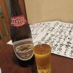 浦和酒店 楽多 らった - 瓶ビール