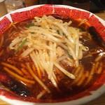 麺屋 遼太郎 - あかまる麺 3辛<税込>780円(2016.12.05)