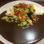 ナイル - 彩り野菜の黒カレー