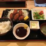 あべの酒場 - カキフライ定食 800円(税込)