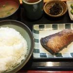 魚玉 - ブリ照り焼き850円