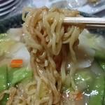 中華飯店 紅来 - 麺