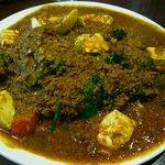 カシミール - 料理写真:ミックスB(キーマ、玄米)