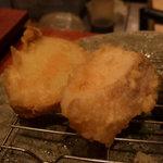 粋魚 むらばやし - 天ぷら次は白身魚とジャガイモ