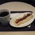 カフェ アンド ナンド - ナンドッグ(チリ)&珈琲