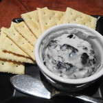 Ginzasakabamaruhachi - 黒豆とマスカルポーネチーズ