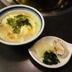 道頓堀 治兵衛 - 2016.12 雑炊と香の物