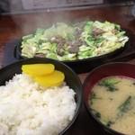 びっくり亭 本家 - 焼肉1人前800円+ご飯大200円