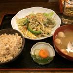 沖縄食堂 - ゴーヤーチャンプル