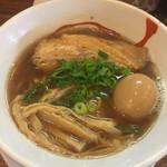 60292959 - 讃岐レトロ醤油ラーメン 味玉トッピング