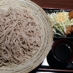 京のあかり - そば(3玉)&チキン南蛮