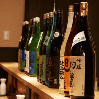 渋谷で唯一!日本酒は全て『蔵元直送』の純米酒を使用