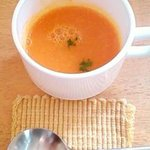 Cafe Yui - 人参スープ