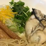 鶏そば・ラーメン Tonari - 濃厚牡蠣白湯つけ麺 トッピング(Tonari)
