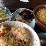 たぬき - 料理写真:そば定食(1,000円)を頂きました。