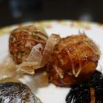 カフェレストラン セリーナ - 2016.12 大阪らしくたこ焼きもありました(冷めてて大して美味しくなかったけどね)