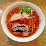 麺処あずき - 「トマト味噌ラーメン」780円