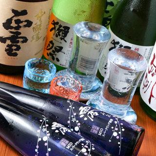 静岡で産まれ、愛される日本酒を用意