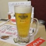 たこ焼酒場 くれおーる - 生ビール