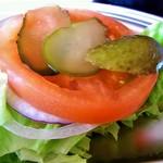T's★Diner - 三箇牧トマトと服部白瓜 野菜は別添え