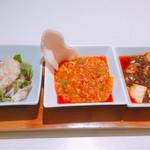 Shisenhanten - 料理の全景〜(^^)