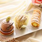 創作洋菓子 モンペリエ - 料理写真:雪塩ショコラ/モンブラン/コルネ