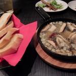 朝もぎ野菜Dining彩り家 - アヒージョ