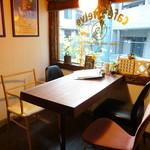 cafe12 - ☆入口すぐのテーブル席の雰囲気Good!!(^^♪☆