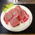 焼肉サラリーマン - タン塩焼き