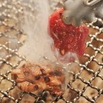 6032712 - ラム厚切りモモの網焼き