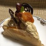魔法のランプ - 料理写真:杏子のキャラメルチーズタルト