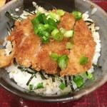 あずみ - ミニヒレカツ丼(アップ)